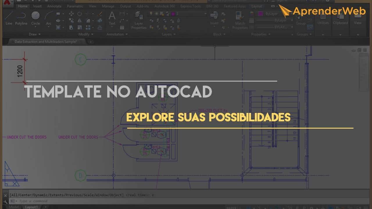 Template no AutoCAD 2015