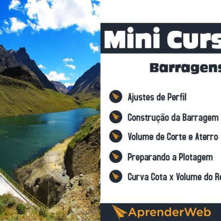 Minicurso Barragens no Civil 3D