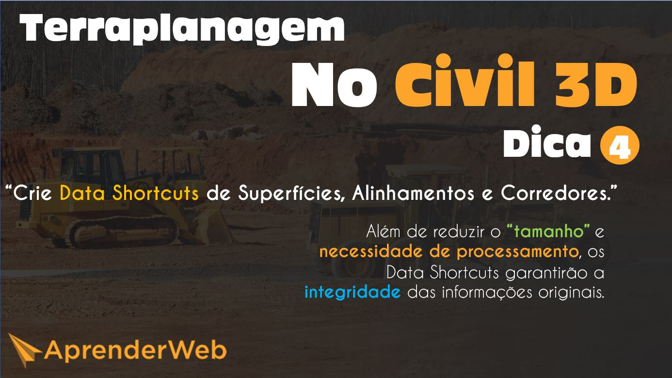 Dica 4 - Terraplanagem no Civil 3D
